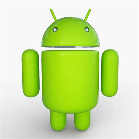 android model android mascot 19266 3d model max obj 3ds dxf cgtrader
