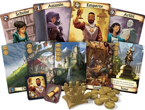 Asmodee Citadelle by Citadelles 2016 Ludovox