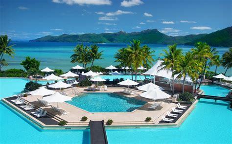 exotic places for a holiday in two exotic holiday resort wallpaper 1377945