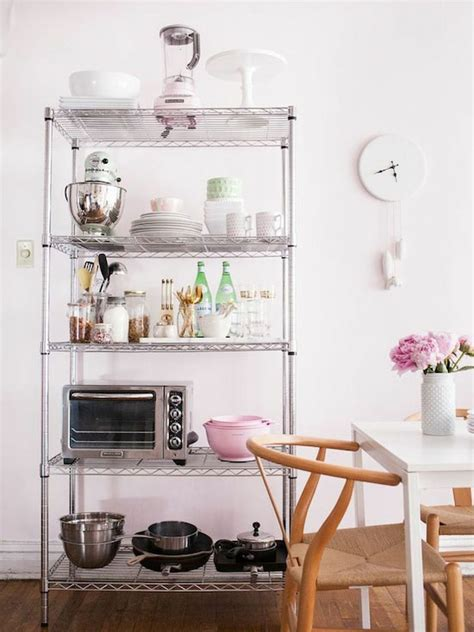 7 ways to organize using wire shelving