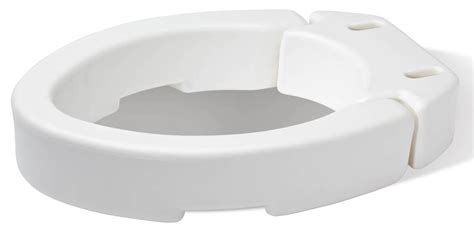 toilet seat risers 2 inch bath safety raised toilet seats hinged toilet seat riser