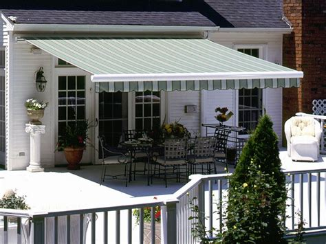 elegant awnings elegant retractable deck awnings doherty house the