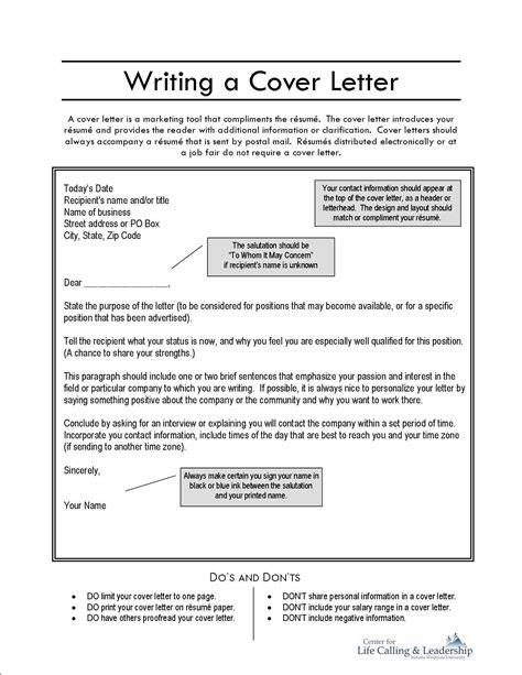 preparing a resume and cover letter writing a cover letter application resources