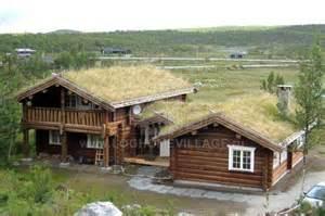 house style norwegian log house style