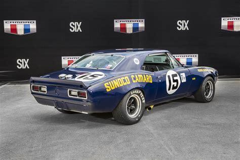 sunoco camaro 1967 chevrolet camaro z28 penske sunoco race cars