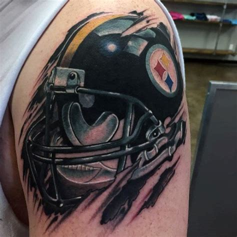 football helmet tattoo designs 20 pittsburgh steelers designs for nfl ink ideas