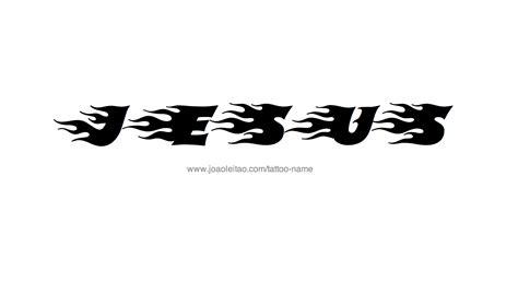 tattoo jesus name jesus name tattoo designs
