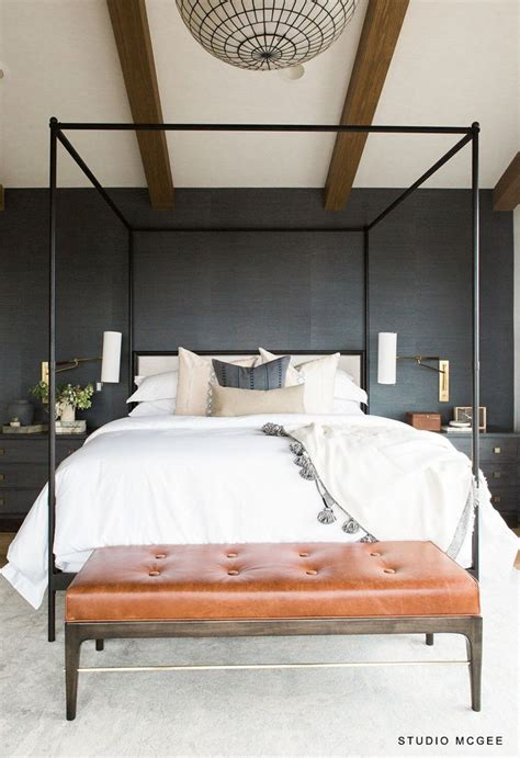 restoration hardware   french iron canopy bed