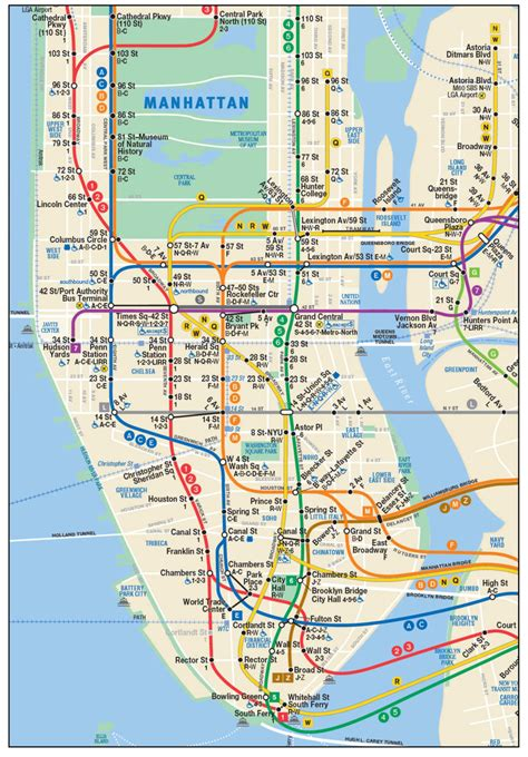 subway map in nyc this new nyc subway map shows the second avenue line so