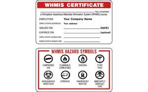 Whmis Certificate Template whmis certificate related keywords suggestions whmis certificate keywords