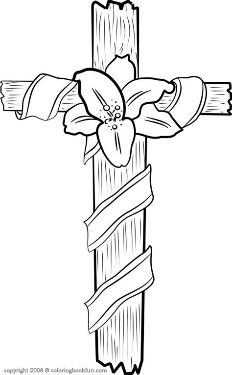 wwe christian coloring pages cross lilie coloring page color book