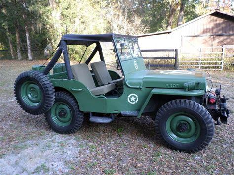 Jeep Cj2a For Sale 1945 Willys Cj2a Jeep For Sale
