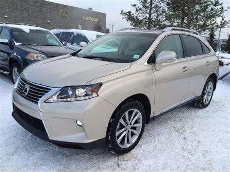 tan lexus new tan cashmere on parchment 2015 lexus rx 350 awd