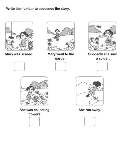 pattern story writing 13 best picture sequence worksheet images on pinterest