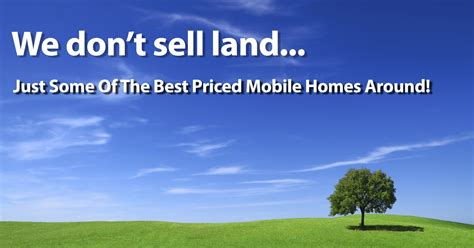 land for sale in mobile homes direct 4 less