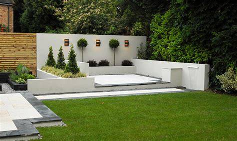 white garden walls contemporary garden white walls search modern