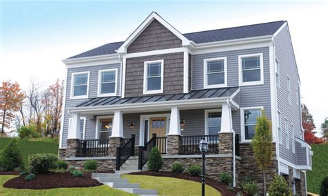 house exterior styles cottage style homes craftsman style house with siding and stone craftsman home builder
