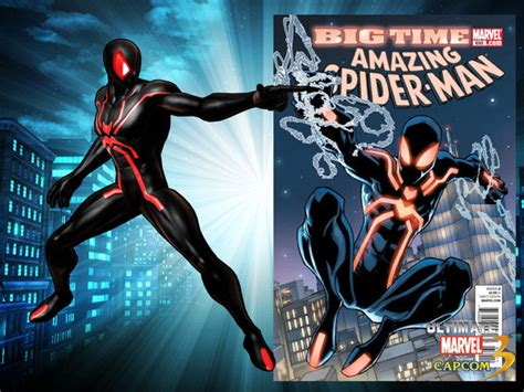 spider man ultimate marvel vs capcom 3 spider man s costumes in ultimate marvel vs capcom 3 image 3