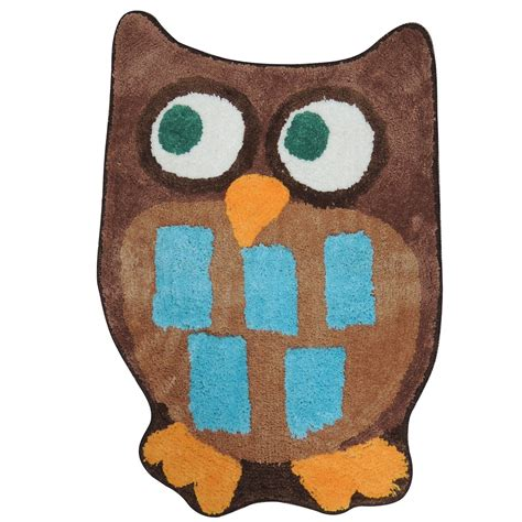 Owl Bath Mat by Essential Home Owl Bath Rug Home Bed Bath Bath