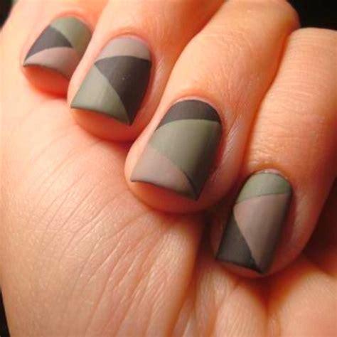 30 Cool Matte Nail Designs