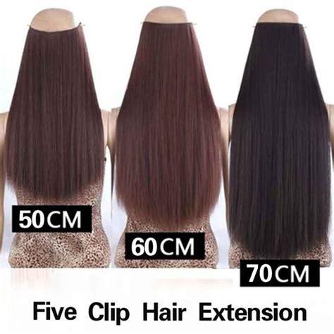 Rambut Palsu Surabaya hair extension wig rambut palsu model 50cm brown jakartanotebook