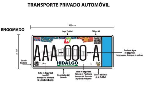 en hidalgo comenz el canje de placas sexenio hidalgo nuevas placas por robo vehicular justifica el gobierno