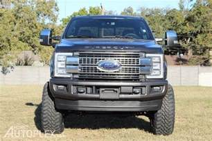 Ford F 250 Platinum 2017 Ford F250 Platinum Lifted