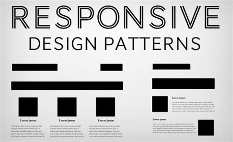 design pattern web development 5 really useful responsive web design patterns top