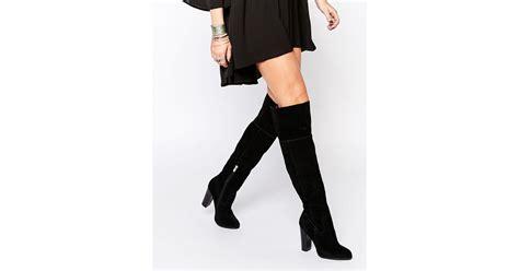 aldo the knee suede boots 28 images real vs stuart