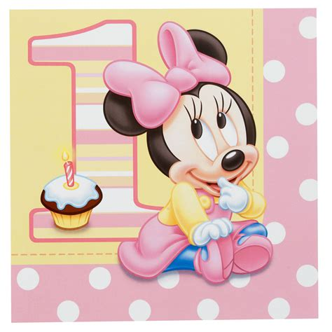 minnie s cheap minnie s 1st birthday lunch napkins 16 count at