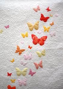 Butterfly Quilt Butterflies A Flutter Baby Quilt Featured Project