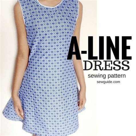 pattern for a line dress free make an a line dress free sewing pattern tutorial