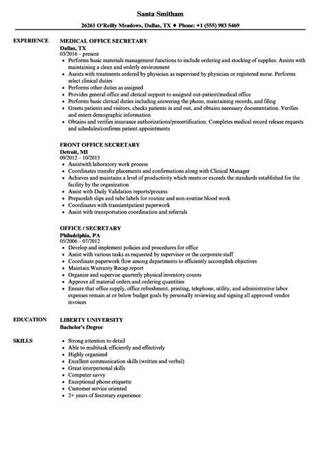 best ideas of office job resume sample on service gallery