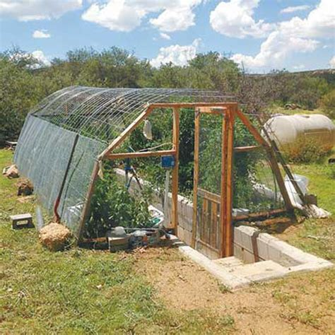 Greenhouse Shed Designs by Diy Greenhouse Underground Farm And Garden Grit Magazine