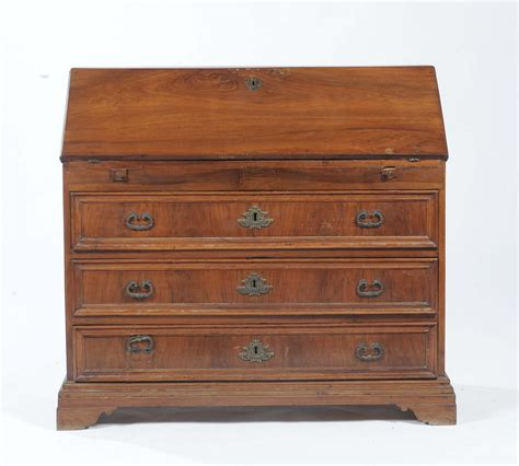 scrivania a ribalta scrivania a ribalta in stile in noce xix secolo asta a