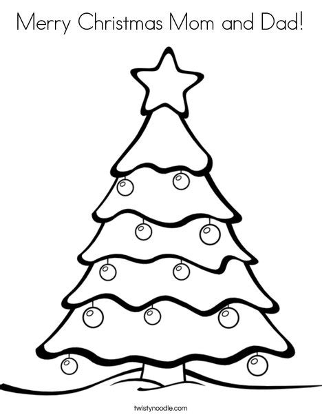 christmas coloring pages for your mom and dad merry christmas mom and dad coloring page twisty noodle
