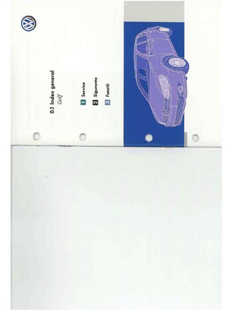 Manual Utilizare Golf 6