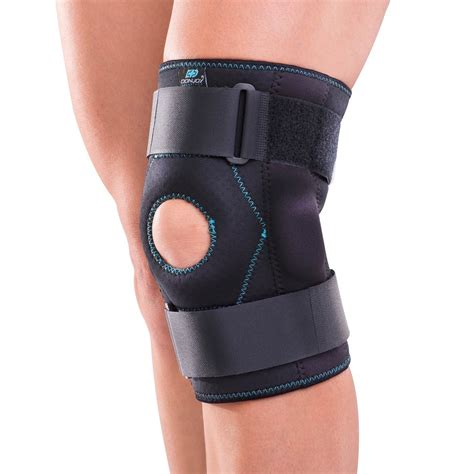 Knee Support donjoy advantage stabilizing hinged knee wrap medial