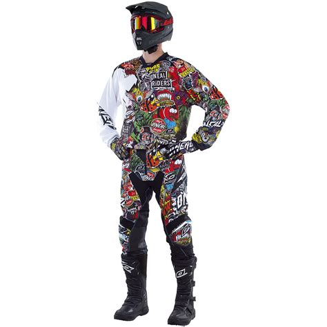 motocross gear singapore oneal mx new 2017 mayhem crank dirt bike black multi