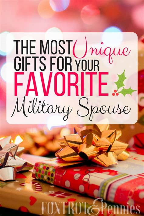 the best gifts for military spouses unique gifts they