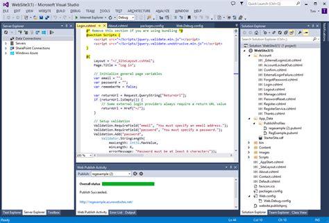 tutorial visual studio 2013 asp net visual studio 2013 descarga e instalaci 243 n mega chris la
