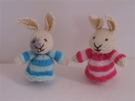 knitting pattern easter bunny knit sew and grow easter bunny