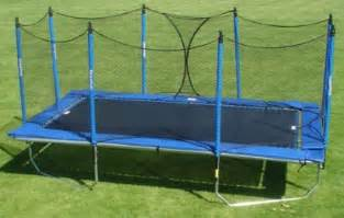 Backyard Kids Playground Trampolines And Trampoline Replacement Parts For Most