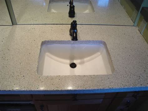 Corian Integral Sink by Corian Bathroom Sinks And Countertops Concrete Is