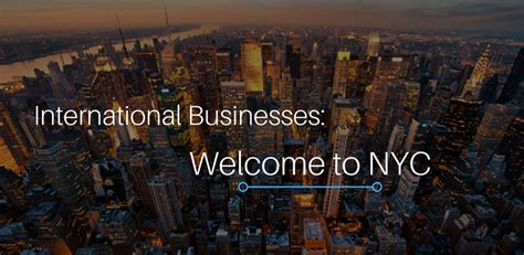 Nyc Mayor S Office by Mayor S Office For International Affairs Announces New