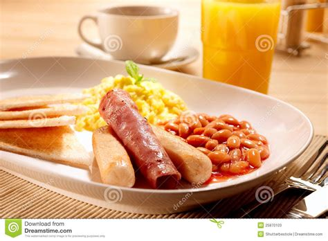 Breakfast Set American Breakfast Set Stock Photos Image 25870103