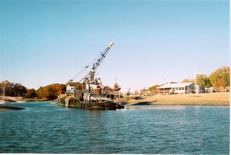 darien boat club 2001 dredging project