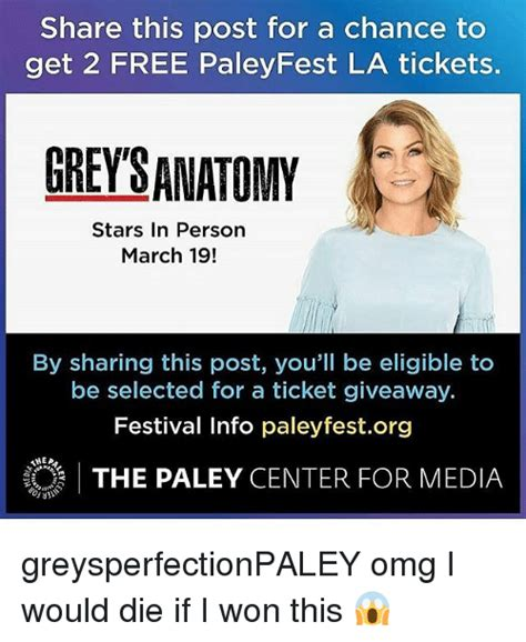 The Ultimate Entertaining Giveaway Yumsugar To Die For by 25 Best Memes About Paleyfest La Paleyfest La Memes