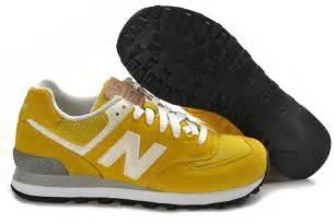 new balance mens shoes sale new balance ml574yo mens yellow white black shoes on sale