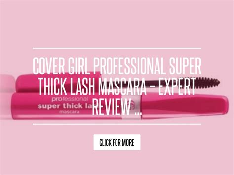 Cover Lash Mascara Expert Review by Cover Professional Thick Lash Mascara Expert